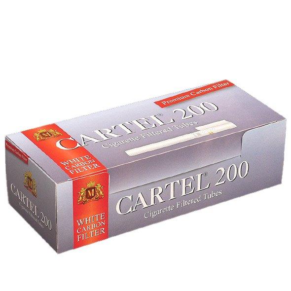 Cartel Carbon Prazne Cigarete sa filterom za punjenje rezanim duvanom