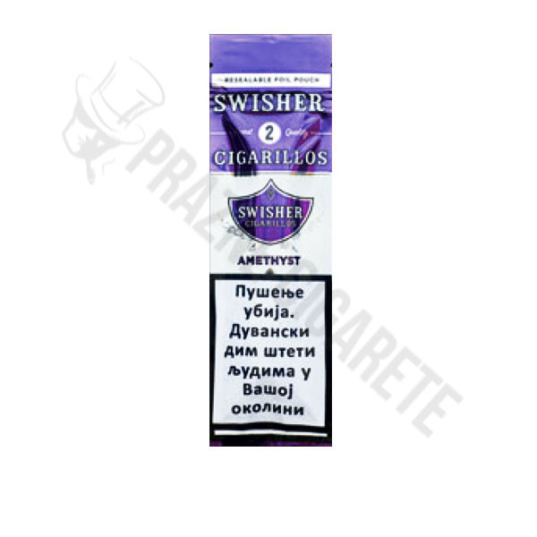 Swisher Sweet Amethyst Cigarilosi