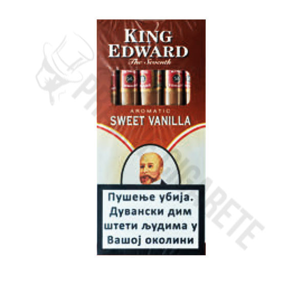King Edward Sweet Vanila Cigarilos-Cigarilosi